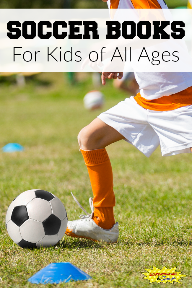 Soccer books for kids of all ages. Includes picture books, chapter books, and non-fiction books.
