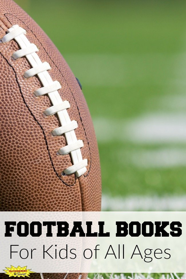 Football books for kids of all ages. Includes picture books, chapter books, and non-fiction books.