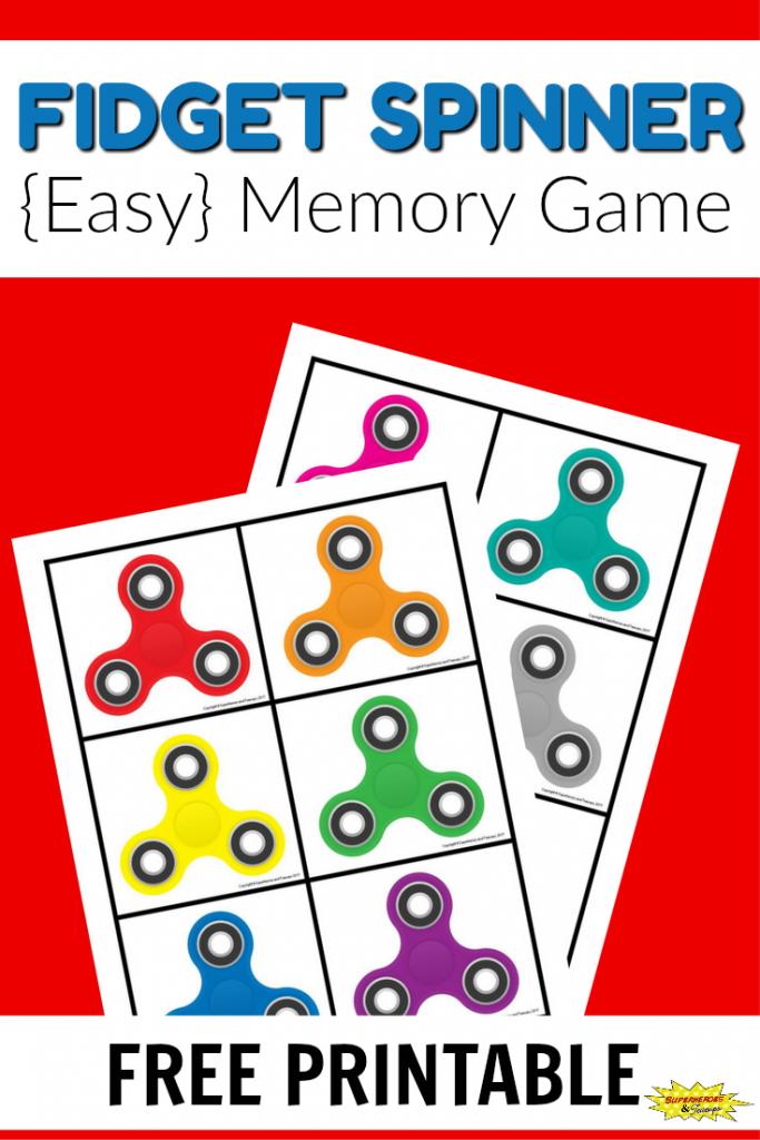 Fidget Spinner Memory Game