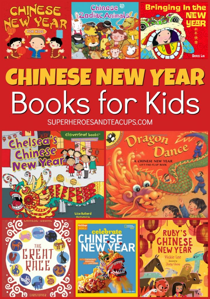 Fun Chinese New Year Books for Kids to help even the youngest readers learn about the holiday.