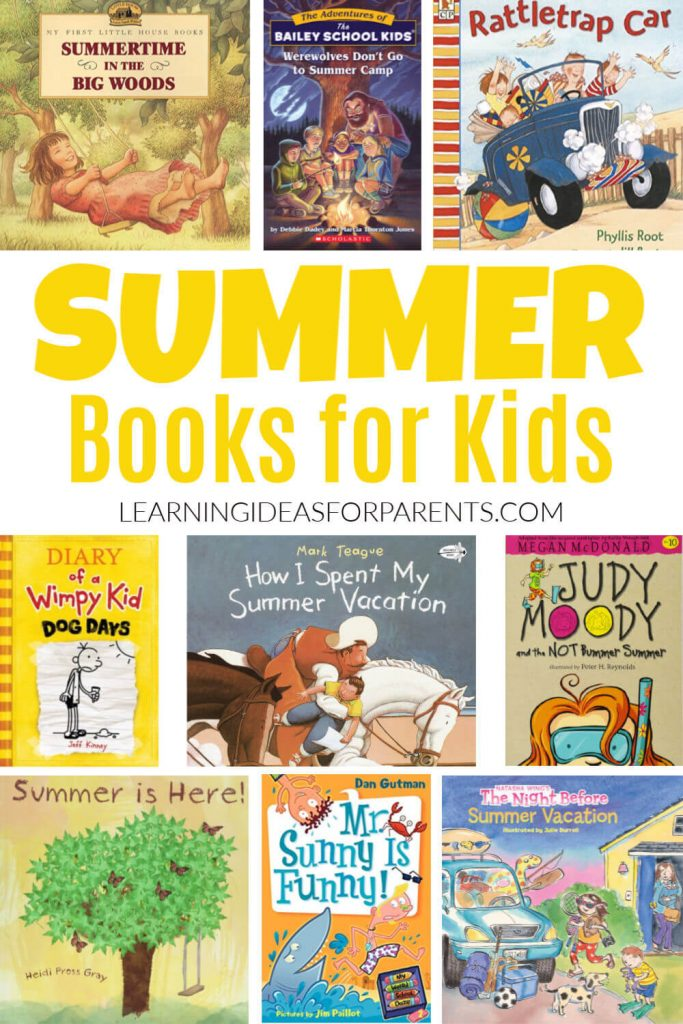 List of Summer Books for Kids of All Ages