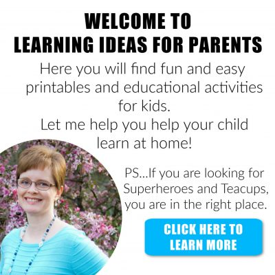 Learning Ideas for Parents About Me
