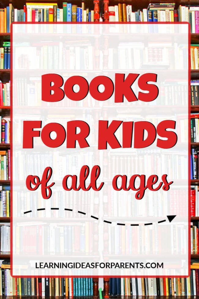 Lists of Books for Kids of All Ages