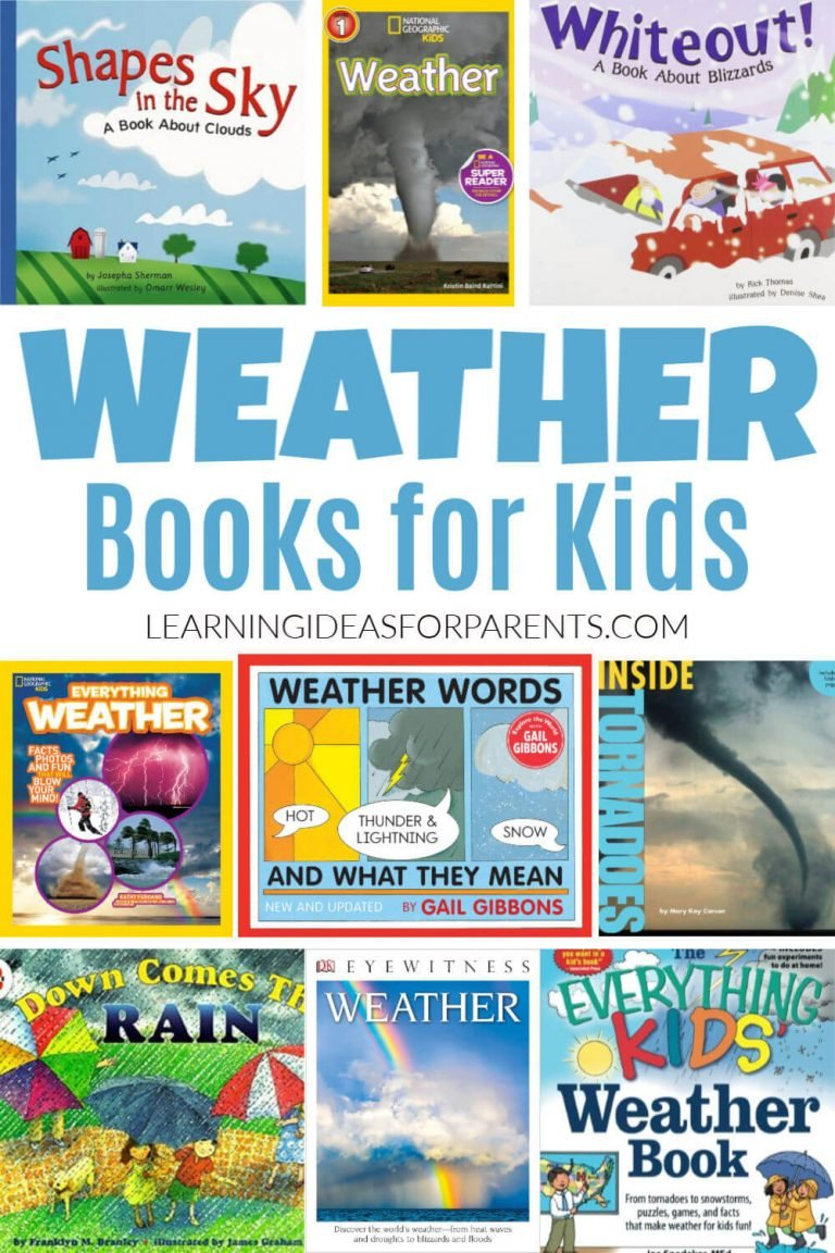 Weather Books for Kids of All Ages