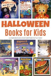 Halloween picture books and chapter books for kids.