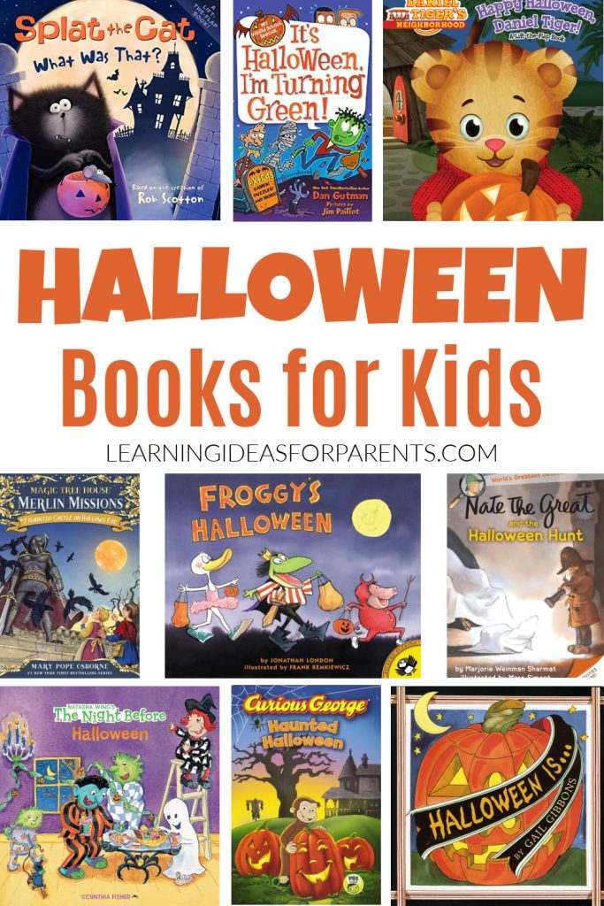 Halloween books for kids of all ages.