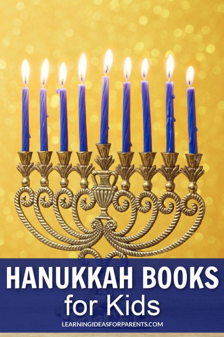 8 of the Best Hanukkah Books for Kids