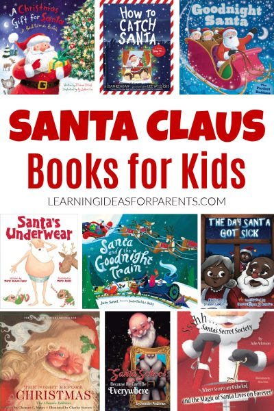 Santa Claus books for kids