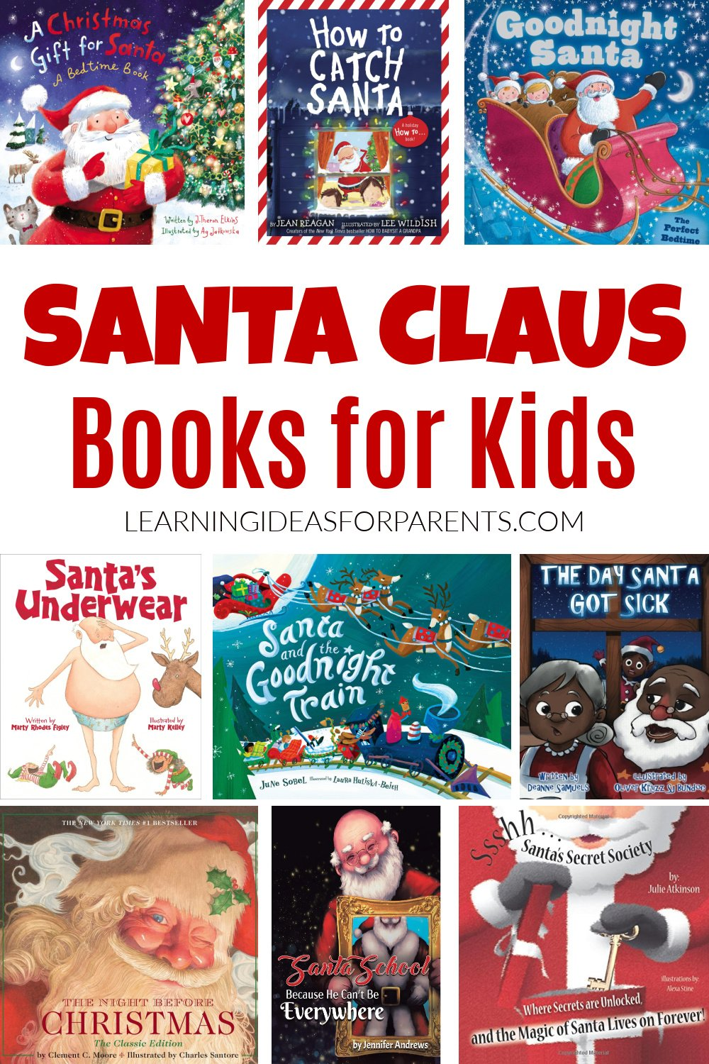 Santa Clause books for kids