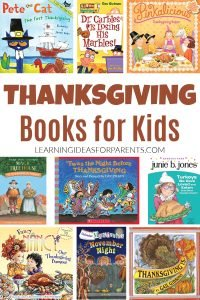 Thanksgiving books for kids of all ages. Picture books and chapter books.