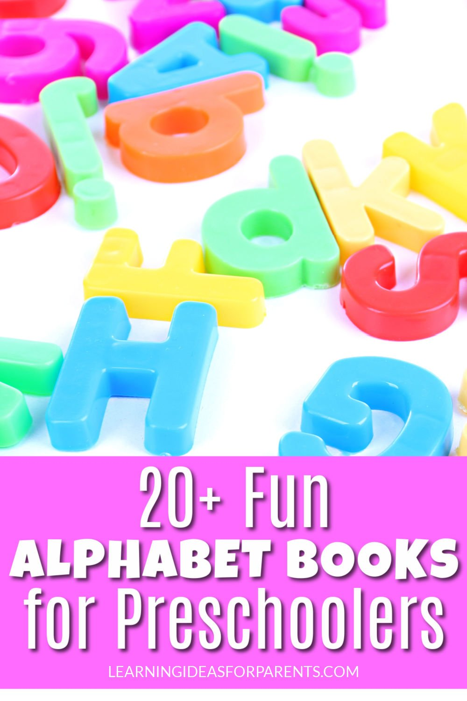 Fun alphabet books for preschoolers