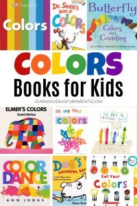 Books about colors for kids of all ages