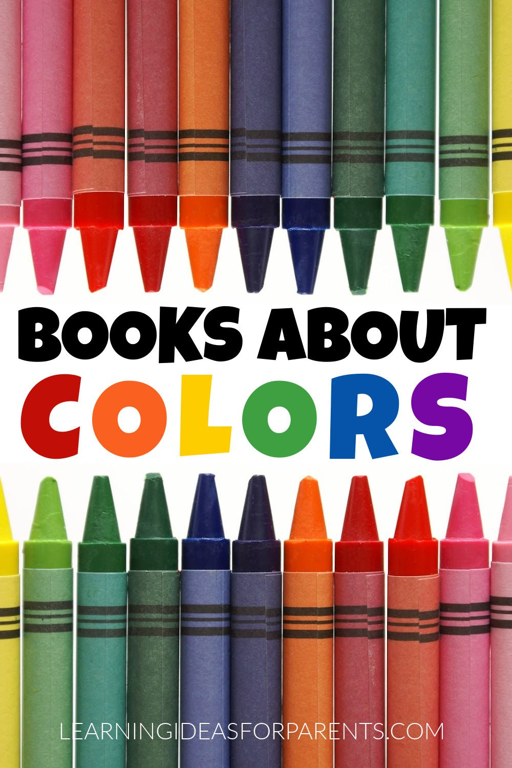 Books about colors for kids of all ages.