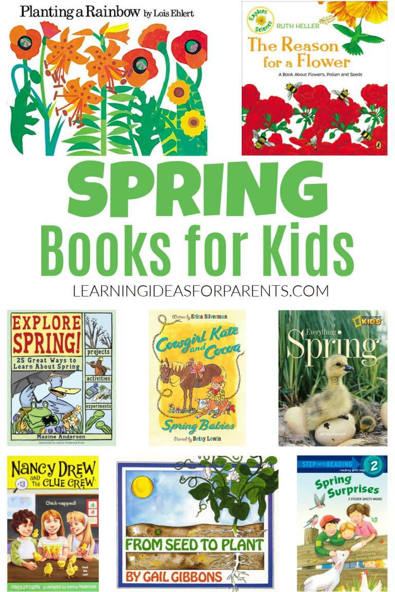 Spring Books for Kids of All Ages
