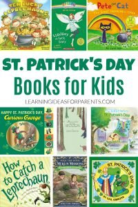 St. Patrick's Day picture books and chapter books for kids
