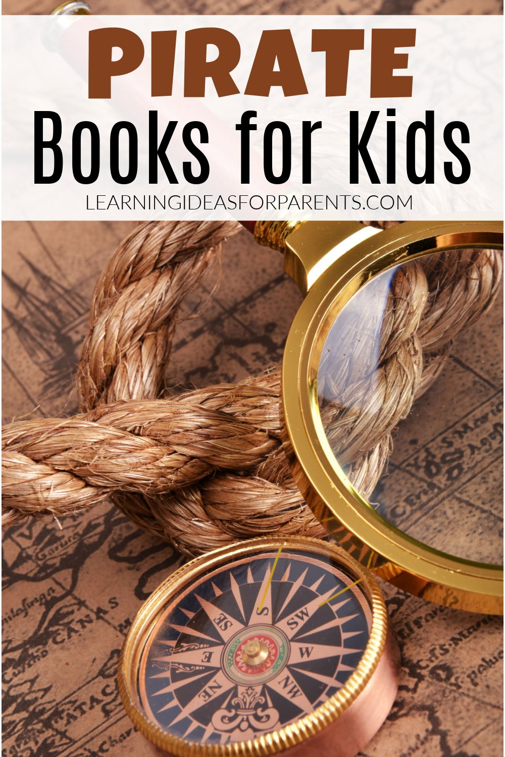 Fun pirate books for kids of all ages.
