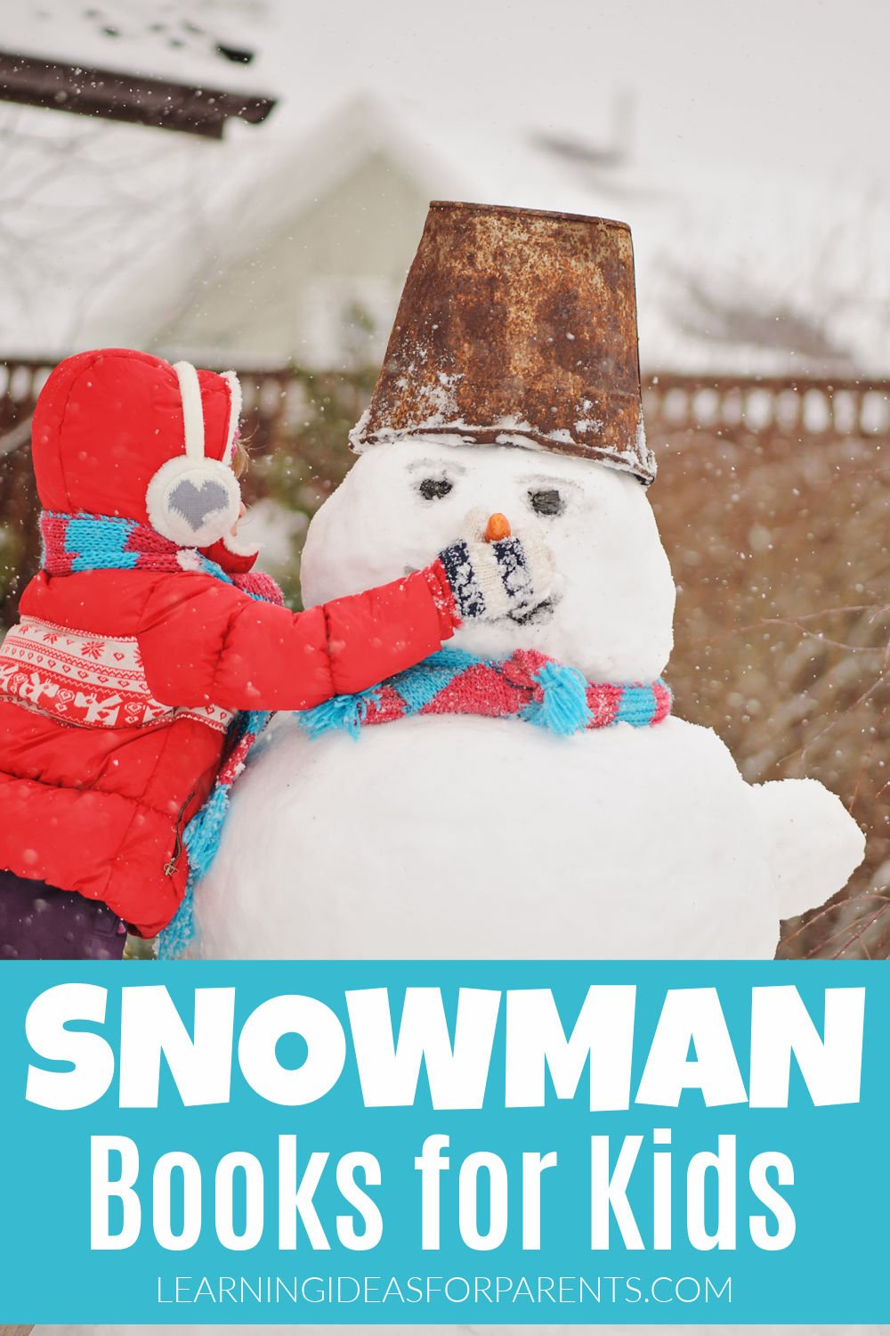 Fun list of snowman books for kids of all ages.